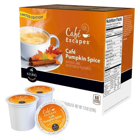 Cafe Pumpkin Spice K-Cups