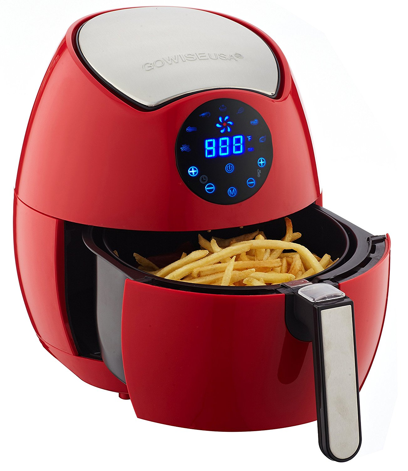 Gowise usa electric digital air fryer kitchen things for Gowise usa